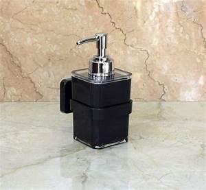 Glass Manual Acrylic Wall Mount Soap Dispenser  Capacity
