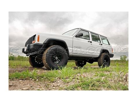 jeep lift kit box jeep cherokee xj 3 quot lift kit pro suspension rough country