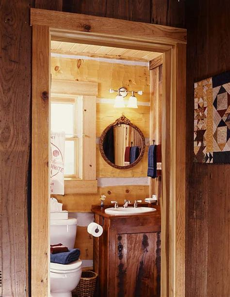 cabin bathrooms ideas photos of a tiny log cabin home the installment of