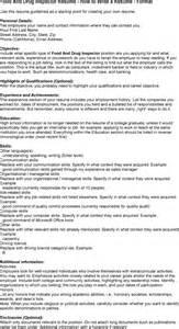 food microbiologist resume sle food inspector resume sales inspector lewesmr