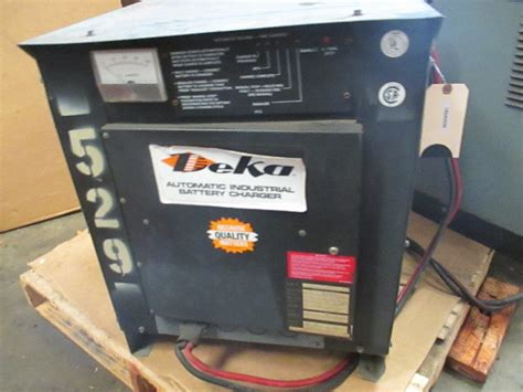 deka  electric forklift battery charger ah hr  ph  cell