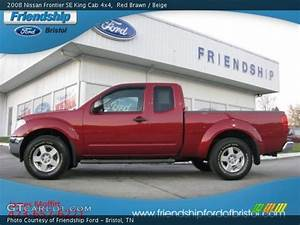 Red Brawn - 2008 Nissan Frontier Se King Cab 4x4