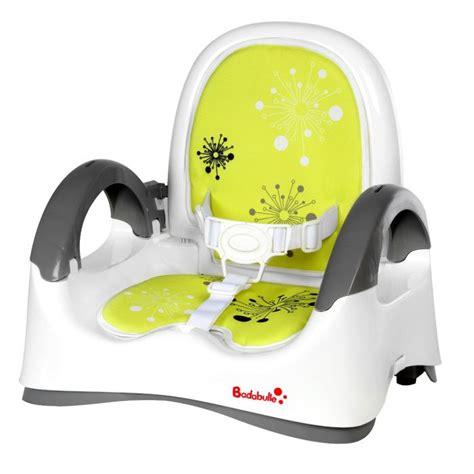siege badabulle badabulle réhausseur confort blanc vert blanc vert