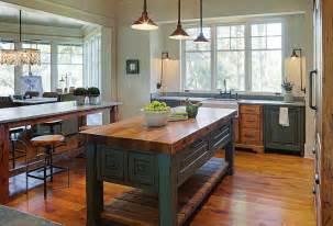 farm table kitchen island farmhouse kitchen island farmhouse table style kitchen island with butchers block countertop