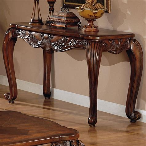 Brown Wood Console Table Steal A Sofa Furniture Outlet