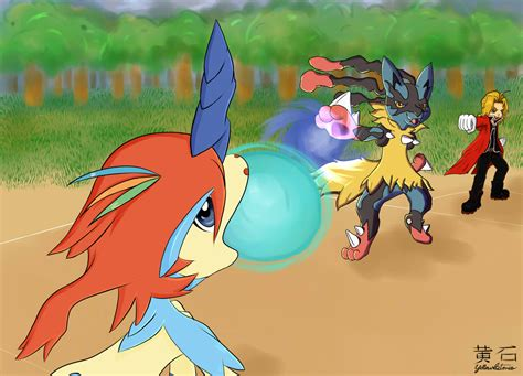 Xy Anime Wallpaper - xy keldeo 18 desktop background animewp