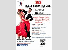 FREE BALLROOM DANCE CLASSES for children and adults at