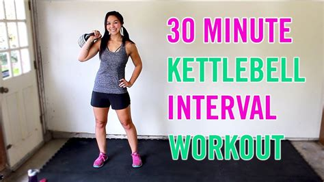 workout kettlebell minute body interval