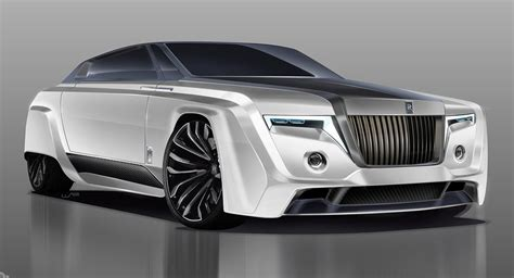 Types Of Rolls Royce by In The Year 2050 The Rolls Royce Phantom Could Look Like