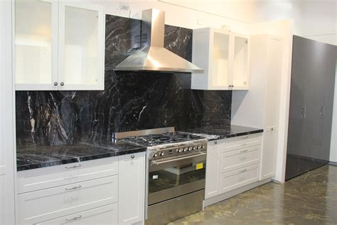 Black Granite Bench Tops by Marble Kitchen Benchtops Melbourne Marble Granite