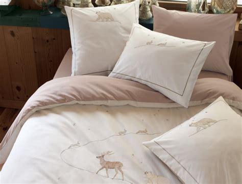 chambre opale linge de lit conte d 39 hiver