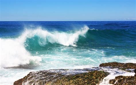 sea wave wallpapers hd wallpapers id