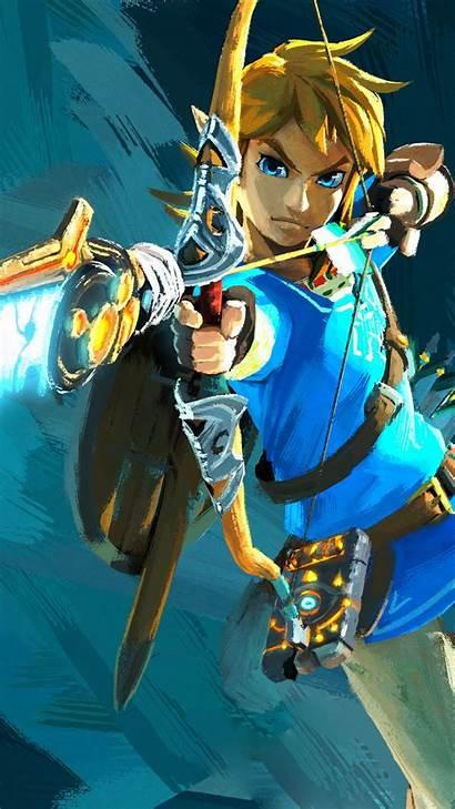 Zelda Legend Link Botw Tattoo Phone Wallpapers
