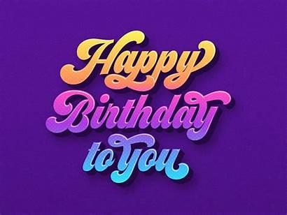 Happy Birthday Vector Typography Edit Clipart Graphics