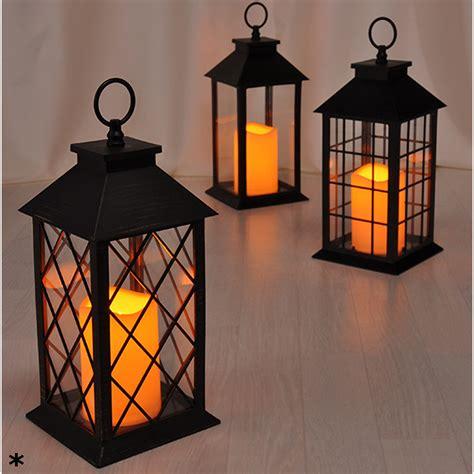 Laterne Led Kerze Tischlaterne Windlicht Aussen Dekoration