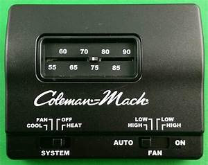 Coleman 7330e3851 7330f3852 Rv Air Conditioner Ac Black