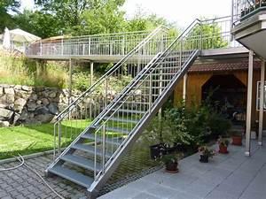 Geländer Für Treppe : stegkonstruktionen mit treppe und gel nder aus edelstahl ~ Michelbontemps.com Haus und Dekorationen