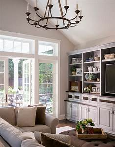 French farmhouse decor porch with white wood wall