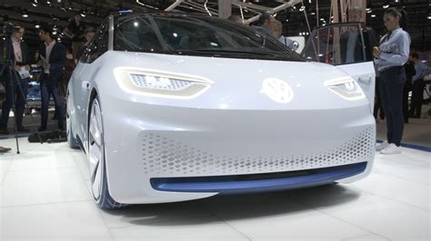 Volkswagen Id Electric Concept Car At The Paris