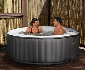 Aero Spa 4 Person Portable Inflatable Hot Tub Jacuzzi