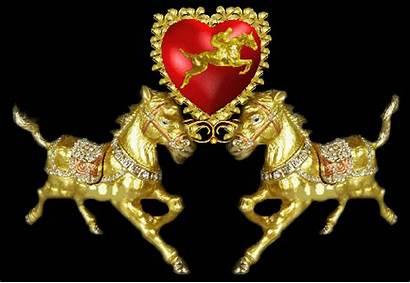Gold Silver Gifs Horse