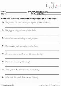 All Worksheets Joined Up Writing Worksheets Uk