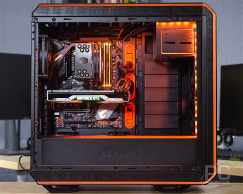 quiet dark base pro  rev  full tower case review