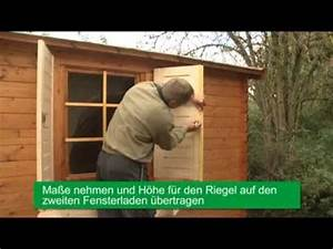 Fensterläden Selber Bauen : fensterl den von wolff finnhaus montieren so einfach ~ Lizthompson.info Haus und Dekorationen
