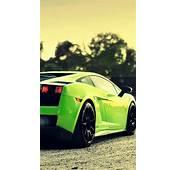 Green Cars Smoke Lamborghini Roads Vehicles Gallardo