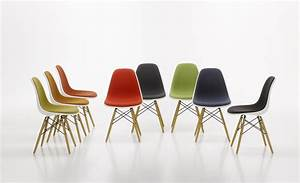 Schalenstuhl Mit Holzbeinen : vitra stuhl eames plastic chair gruppe holzbeine ~ Frokenaadalensverden.com Haus und Dekorationen