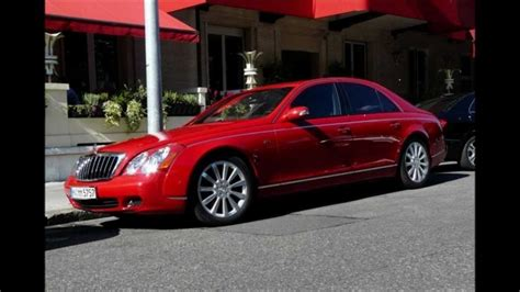 2011 Red Maybach Time Is Money