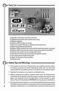 Parts List  Safety Tips And Warnings