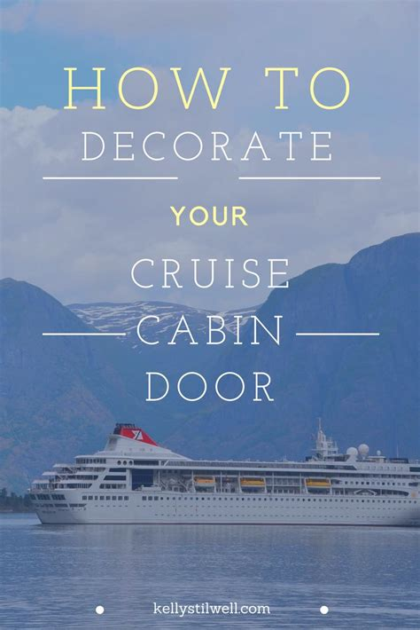 cruise ship door decorating images  pinterest