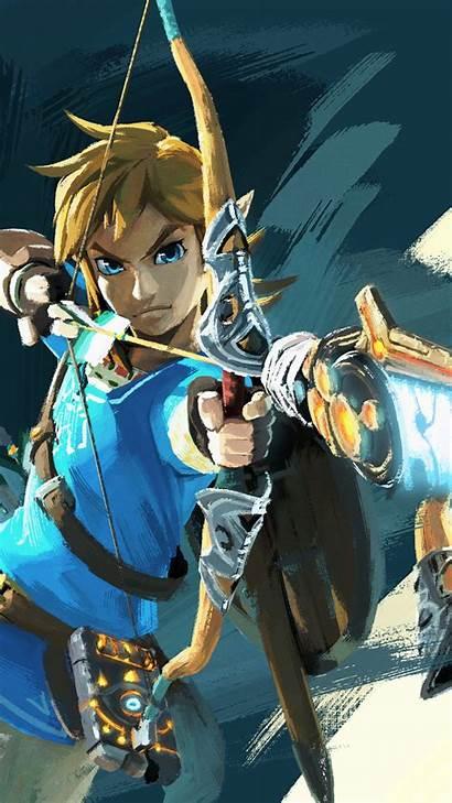 Zelda Legend Iphone Breath Wild Wallpapers Ocarina