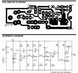 Wiring Schematic Diagram  Wireless Microphone Circuit Diagram