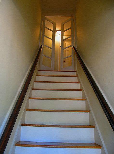 Bedroom Door Sticks At Top by Doors At Top Of Stairs Attic Rooms Basement
