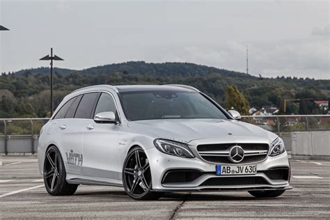 mercedes tuning is 700hp enough mercedes amg c63 estate turned into a