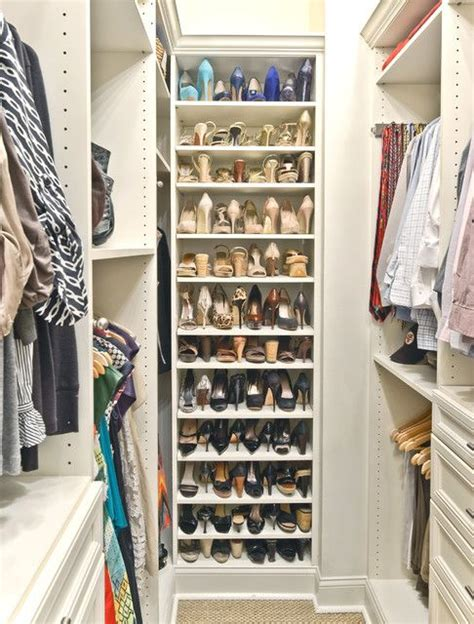 Narrow Walk In Closet Organization Ideas by 13 Creative Ways To Organize Your Shoes Inspired By