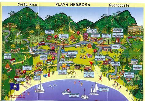 map  playa hermosa travel places