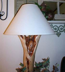This hand made diamond willow lamp would dress up any room