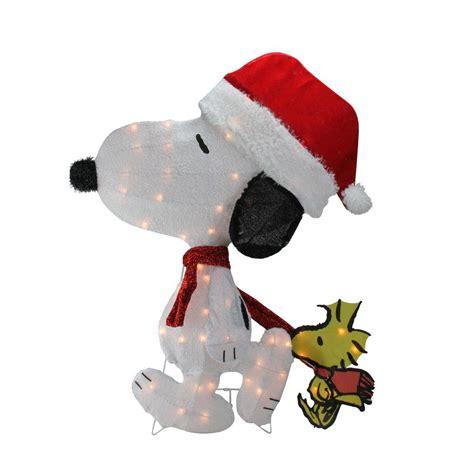 northlight   christmas pre lit peanuts snoopy