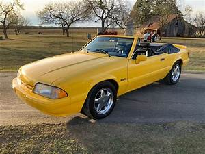 Cruise Into The Sunset With A Rare 1993 Ford Mustang LX 'Vert Feature Car
