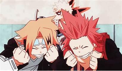 Bnha Academia Hero Kirishima Anime Manga Animated