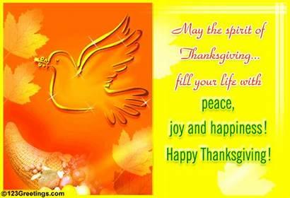 Thanksgiving Happy Peace Joy Happiness Spirit Prayers