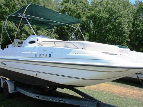 Deck Boat Yamaha by Deck Boat Harris Kayot Legend 23 11 Quot Yamaha 225hp Load