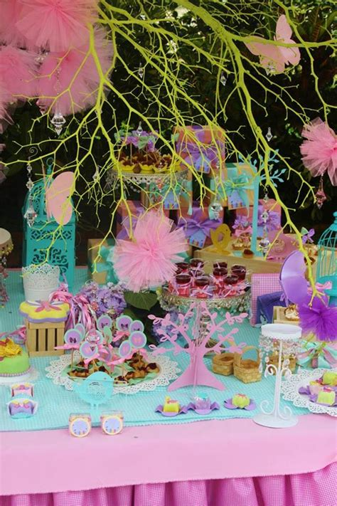 karas party ideas pastel butterfly garden party planning