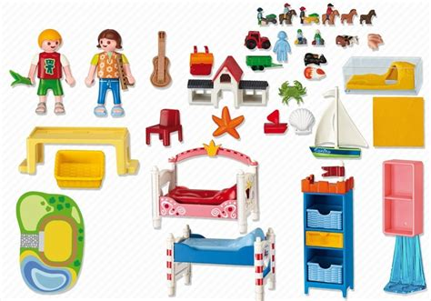 chambre playmobil playmobil set 5333 boy and 39 s bedroom klickypedia