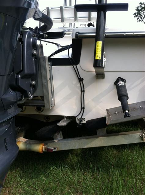 Armstrong Boat Ladder by Mounting Armstrong Ladder On A Pathfinder The Hull