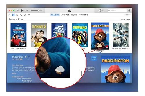does itunes download or stream movies