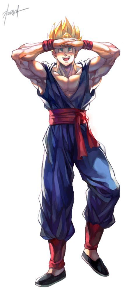 Tags Anime Pixiv Id 9040790 Z Gohan Image 1787032 Zerochan Anime